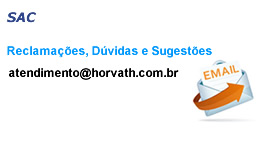 Horvath-Ar SAC Reclamações Dúvidas Sugestões E-mail